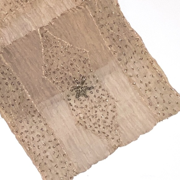 Beautiful Handstitched Table Runner